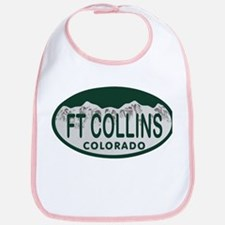 Ft Collins Colo License Plate Bib