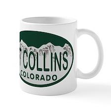 Ft Collins Colo License Plate Mug