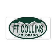 Ft Collins Colo License Plate Aluminum License Pla