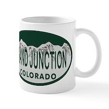 Grand Junction Colo License Plate Mug