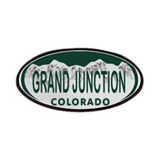 Grand Junction Colo License Plate Patches