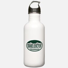 Grand Junction Colo License Plate Water Bottle