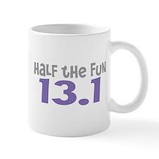 Funny Half the Fun 13.1 Mug