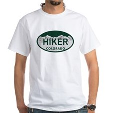 Hiker Colo License Plate Shirt