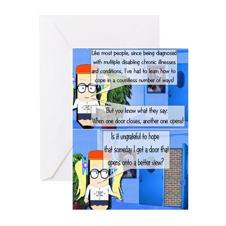 When One Door Closes Greeting Cards (Pk of 10)