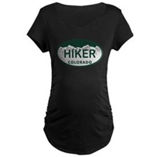 Hiker Colo License Plate T-Shirt