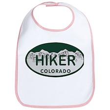 Hiker Colo License Plate Bib