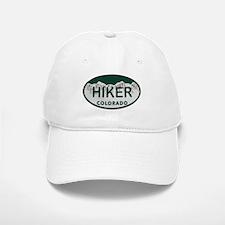 Hiker Colo License Plate Baseball Baseball Cap