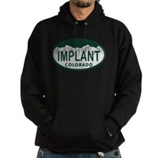 Implant Colo License Plate Hoodie