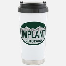Implant Colo License Plate Travel Mug