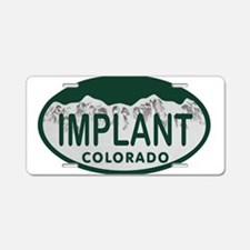 Implant Colo License Plate Aluminum License Plate