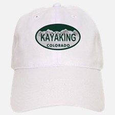 Kayaking Colo License Plate Baseball Baseball Cap