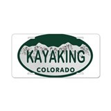 Kayak license plate License Plates