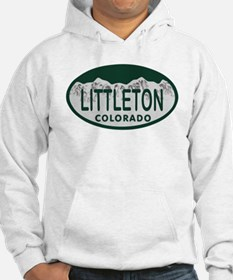 Littleton Colo License Plate Hoodie