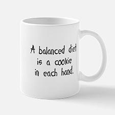 balanced cookie diet Mug
