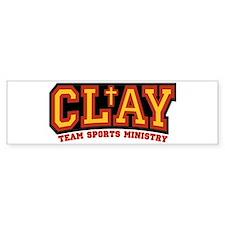 CLAY Gear Bumper Sticker