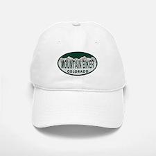 Mountan Biker Colo License Plate Baseball Baseball Cap