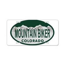 Mountan Biker Colo License Plate Aluminum License