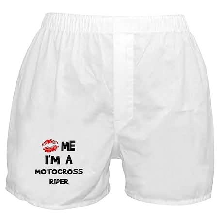 Kiss Me I'm A Motocross Rider Boxer Shorts