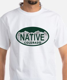 Native Colo License Plate Shirt