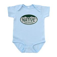 Native Colo License Plate Infant Bodysuit
