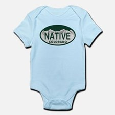 Native Colo License Plate Infant Bodysuit