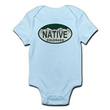 Native Colo License Plate Onesie