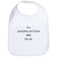 generalizations are false Bib
