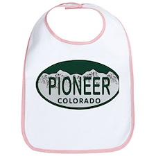 Pioneer Colo License Plate Bib