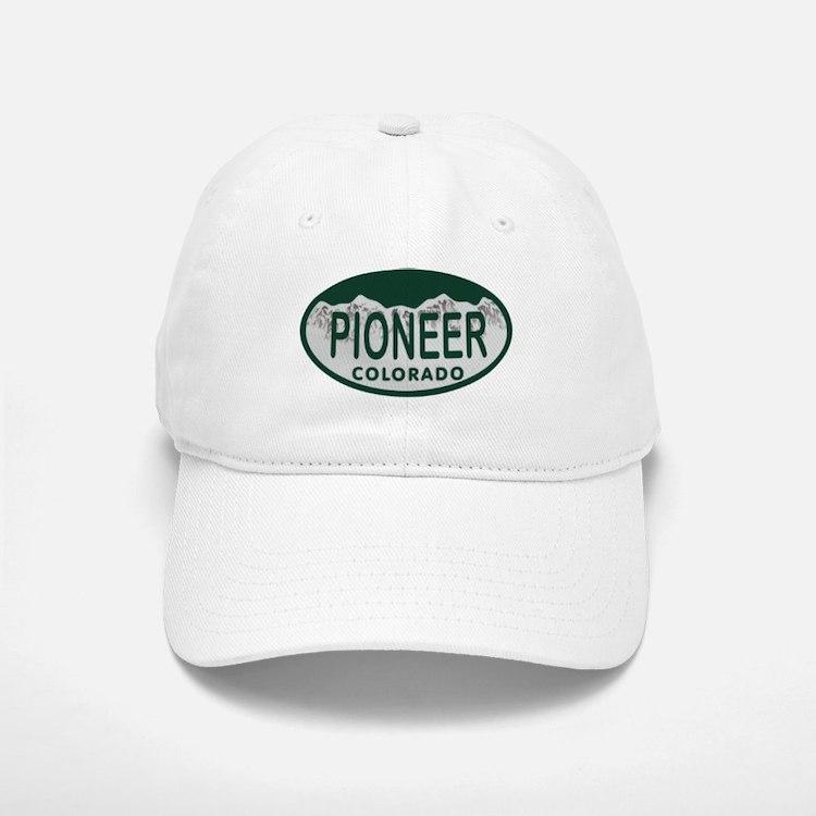 Pioneer Colo License Plate Baseball Baseball Cap