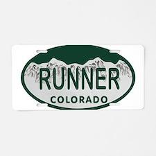 Runner Colo License Plate Aluminum License Plate