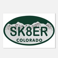 Sk8er Colo License Plate Postcards (Package of 8)