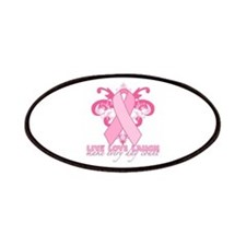 Everyday Pink Ribbon Patches