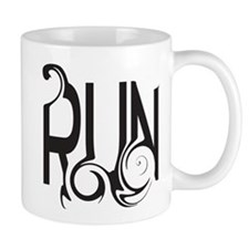 Unique Run (right) Mug Mugs
