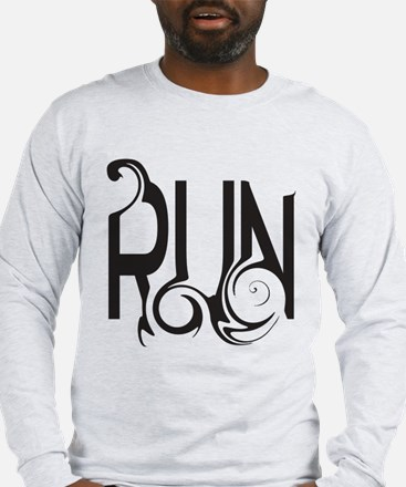 Unique RUN Long Sleeve T-Shirt