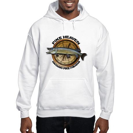 Hooded Pike Fishing Sweatshirt