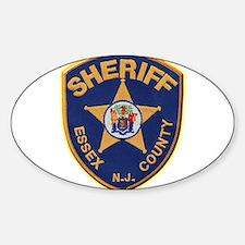 Essex County Sheriff Sticker (Oval)