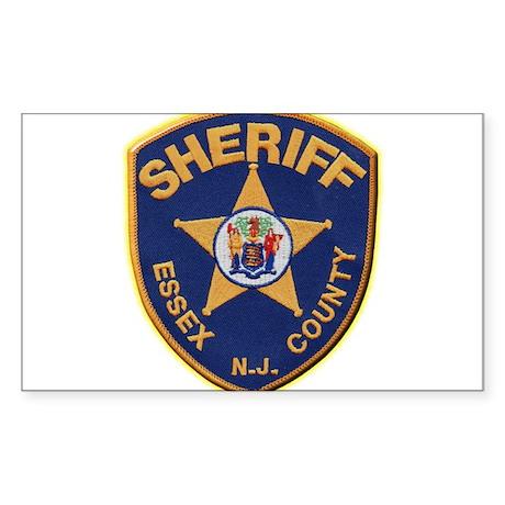 Essex County Sheriff Sticker (Rectangle)