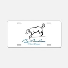 Water Search Aluminum License Plate