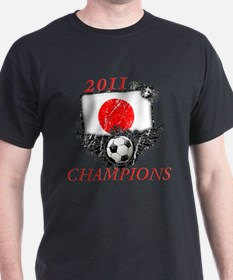 2011 World Cup Champions Japan T-Shirt