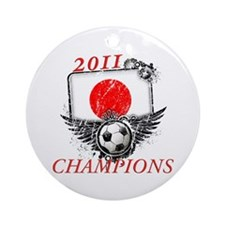 2011 World Cup Champions Japan Ornament (Round)