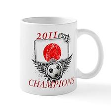 2011 World Cup Champions Japan Mug