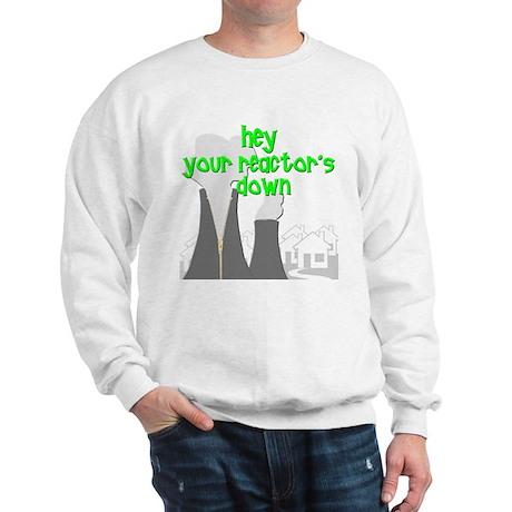 funny nuclear reactor Sweatshirt