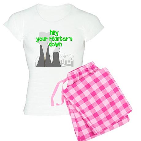 funny nuclear reactor Women's Light Pajamas