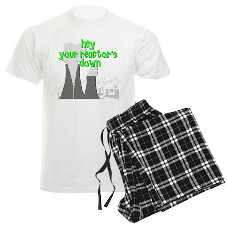 funny nuclear reactor Men's Light Pajamas