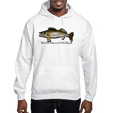 Hooded World Record Walleye Sweatshirt