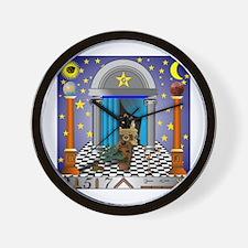 King Solomon's Temple Wall Clock