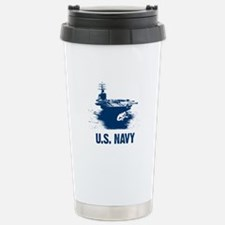 U.S. NAVY Air Craft Carrier Travel Mug