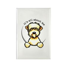 Funny Wheaten Terrier Rectangle Magnet
