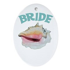 Island Bride Ornament (Oval)